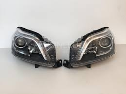 mercedes headlights benz gl class x166 2012 ahl xenon headlights