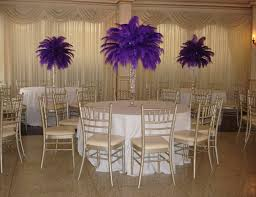 ostrich feather centerpiece ostrich feather centerpieces party favors ideas tierra este 36220