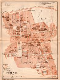 Italy City Map by 1903 Map Of Pompeii Antique Map Italy Old Map Pompei Gulf