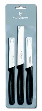 victorinox kitchen knives set victorinox black paring knives set 3 pieces 5 1113 3