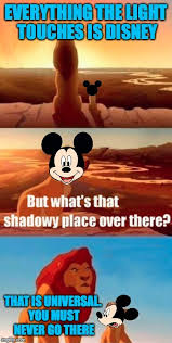 Lion King Shadowy Place Meme Generator - mickey shadowy place imgflip