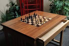 Chess Table Signature Traditional Chess Table 2 25