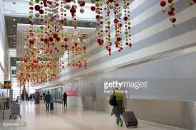 Commercial Christmas Decorations Miami by An Aerial View Of Miami International Airport Stock Photo Getty