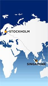 Singapore Air Route Map by Singapore Airlines Says U201challa U201d As It Takes Off To Stockholm