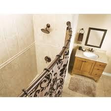 Bath Bliss Curved Shower Rod Moen Creative Specialties Csi Csr2160ch Moen Chrome Shower Curtain