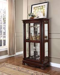 curio cabinet ashley furniture curio cabinet free dining room