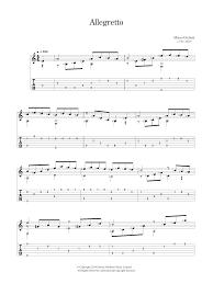 mauro giuliani allegretto sheet music at stanton u0027s sheet music