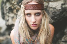 leather headband faux leather brown diy headband jpg