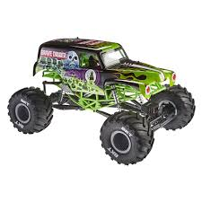 large grave digger monster truck toy axial 1 10 smt10 grave digger monster jam truck 4wd rtr