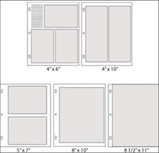 5 by 7 photo album showcase paper suite pocket pages the paper