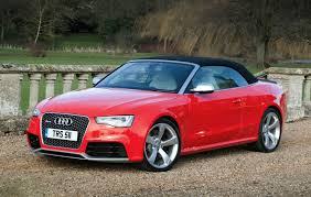 convertible audi red audi a5 rs5 2010 2015 buying and selling parkers