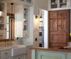 Kitchen Cabinets With Hinges Exposed Pretty Driftwood Kitchen Cabinets With Painted Gray Traditional