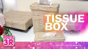 wood theme tissue box decoration diy how to make a tissue box