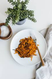 sweet potato hash browns downshiftology