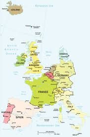 Blank Map Of Western Europe by Political Map Of Western Europe Roundtripticket Me