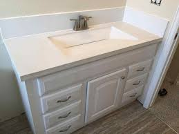 undermount sink concrete countertop integrated kitchen sink and countertop sofa cope