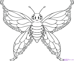 coloring pages butterfly templates to print butterfly cake