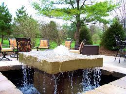 bedroom tasty backyard water feature design ideas position
