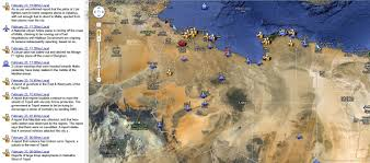 Map Of Benghazi World Scene Today The World U0027s Affairs With Sharper Commentary