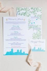 Wedding Invitations Atlanta Atlanta Wedding Itinerary And Schedule Guest Information U0026 Things