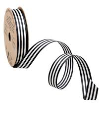 curling ribbon black stripe cotton curling ribbon innisbrook bows and ribbons