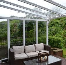 Lean To Pergola Kits by Wall Mounted Lean To Canopy Kit With Polycarbonate Glazing