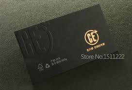 business cards gold foil sting cards custom of high grade