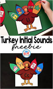 turkey initial sounds a dab of glue will do