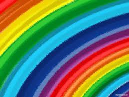 rainbow ripple ppt template u2013 church clipart