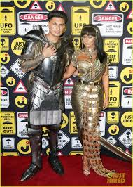halloween party photo paris hilton aubrey o u0027day u0026 pauly d ring in halloween with just