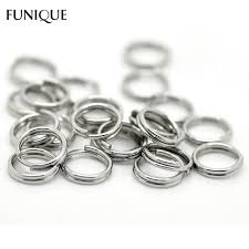 colored jump rings images Funique double layer jump rings jewelry findings 500pcs silver jpg