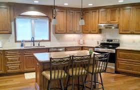how to stain wood cabinets in kitchen how to choose the right wood and stain for your kitchen cabinets