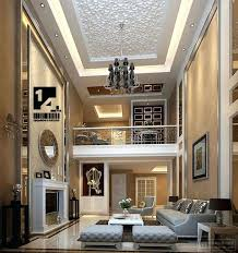 Decorating Ideas For Living Rooms With High Ceilings High Ceiling Living Room Decor Ideas High Ceiling Living
