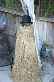 Tomato Cage Milk Jug Witch Tomato Cage Uses Pinterest by Make Your Own Cousin It Tomato Cage Hula Skirts Hat Glasses