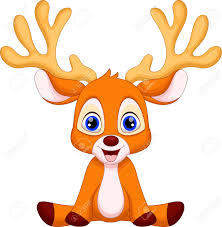 child sitting clipart sitting reindeer clipart clipartxtras