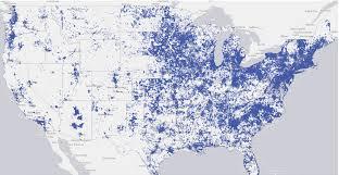 National Broadband Map Musings On Maps