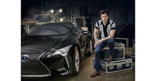 lexus ls polska mark ronson partners with lexus to launch the new lc