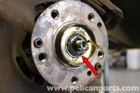 mercedes benz 190e front wheel bearing replacement w201 1987