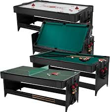 3 in 1 air hockey table amazonsmile fat cat original 3 in 1 7 foot pockey game table air