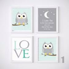 Nursery Owl Decor Owl Decor Gender Neutral Nursery Owl Nursery By Rabeycreative