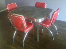 kitchen furniture edmonton 50 s chrome dinette set back in production vintage