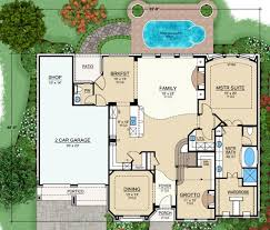 house plans floor master european house plan with 4 bedrooms and 3 5 baths plan 4854