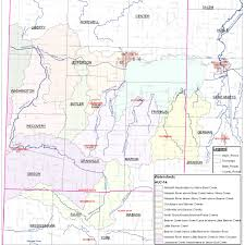 Beaver Lake Map Grand Lake Wabash Watershed Alliance