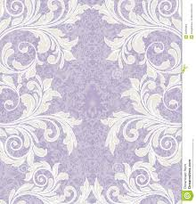 Debut Invitation Card Purple Floral Damask Invitation Card Stock Photography Image