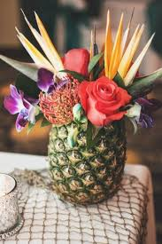 Pineapple Decoration Ideas Pineapple Inspired Tropical Wedding Ideas Hotref Party Gifts