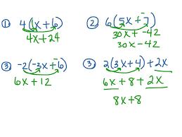 Worksheets Distributive Property Distributive Property Math Distributive Property Simplifying