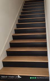 stair risers painted dark google search entryway pinterest