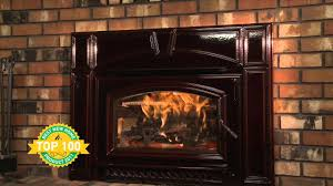 quadra fire voyageur grand wood insert video youtube