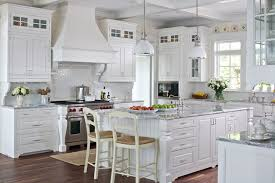 white cottage farmhouse kitchens country kitchen designs we love