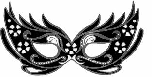 black and white masquerade mask mask clip at clker vector clip royalty free